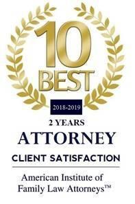 Client Satisfaction Award from American Institute of Family Law Attorneys