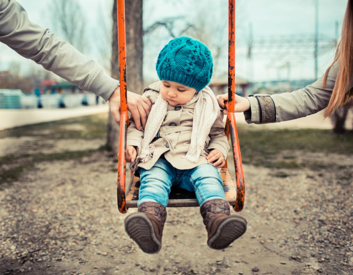 Child on Swing | child support in schaumburg il