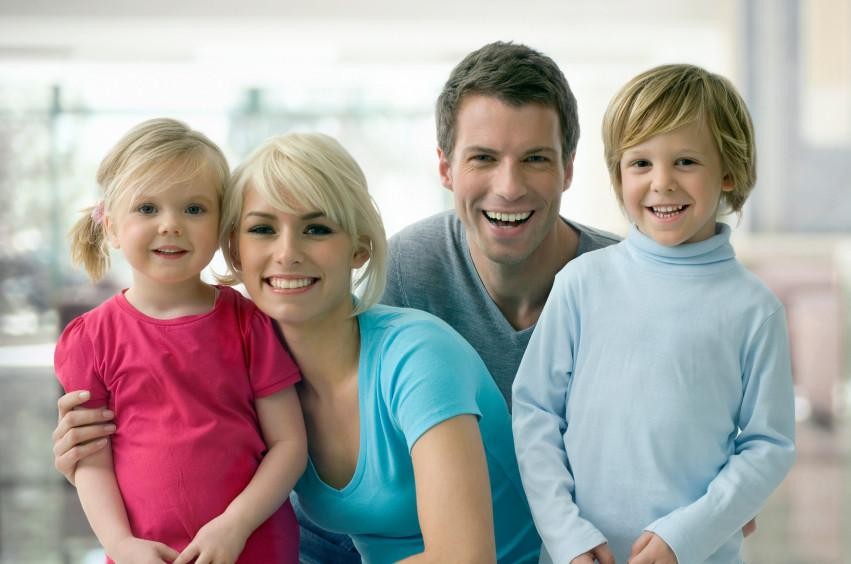 Smiling Family | Family Lawyer Schaumburg IL