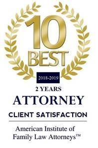 Client Satisfaction Badge from American Institute of Family Law Attorneys