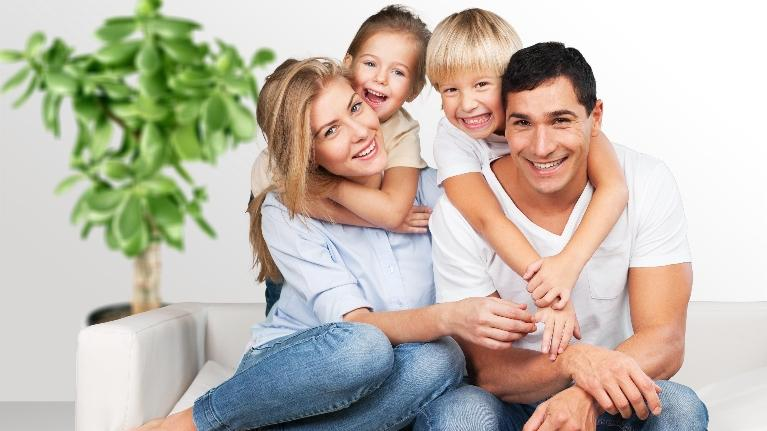 Smiling Family | Rolling Meadows Family Lawyer