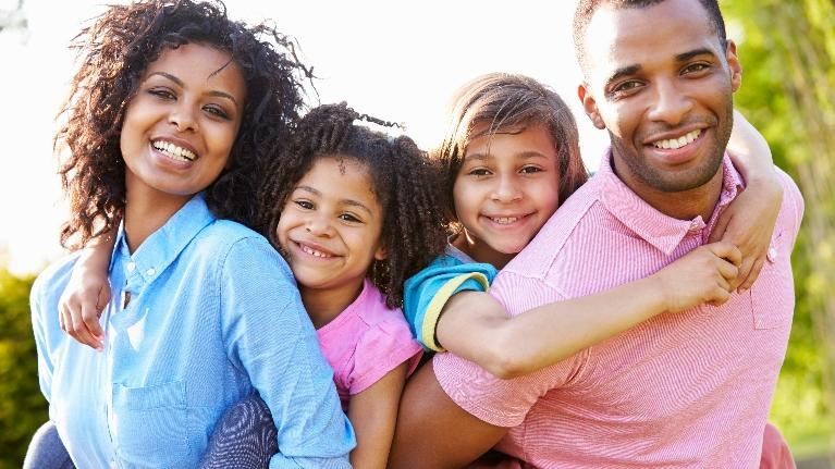 Smiling Family | Family Law Office Schaumburg IL
